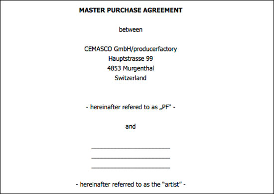 ProducerFactory Contract