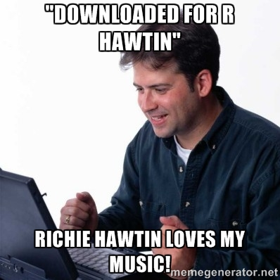 downloading for r hawtin