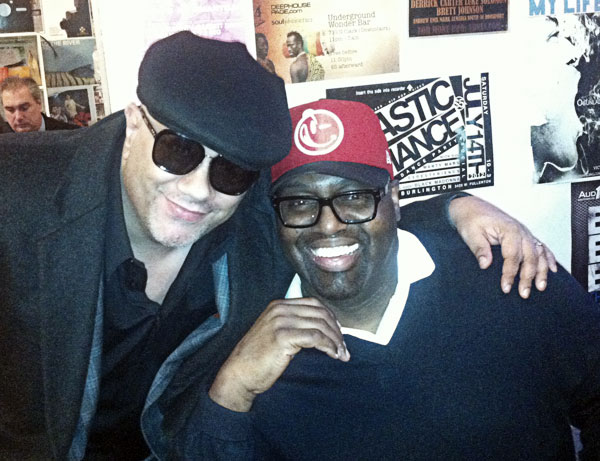 Wayne Williams & Frankie Knuckles (from 5 Magazine's archives)