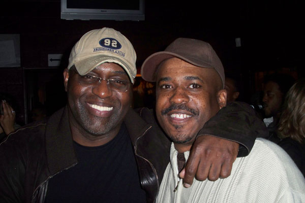Frankie Knuckles and Craig Loftis, I think at Ron Carroll's birthday party at Boom Boom Room circa 2008.