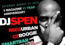5 magazine anniversary