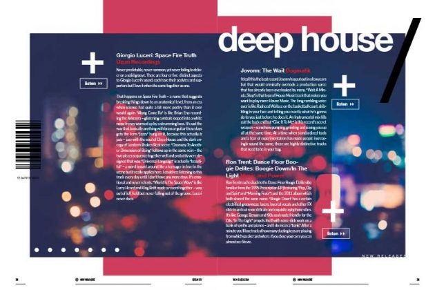 Deep House Reviews Issue 137