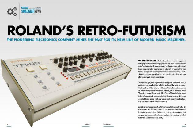Roland's Retro Futurism