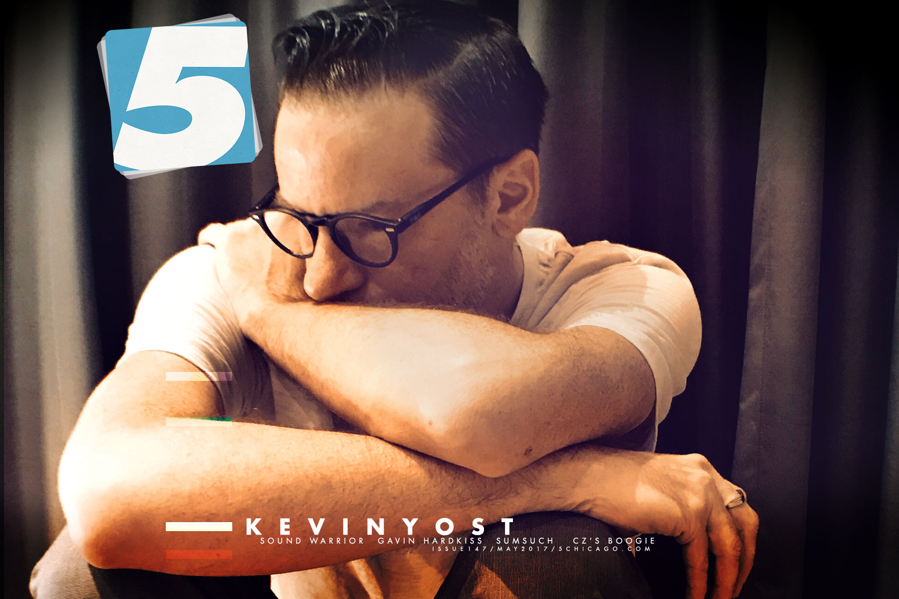 kevin yost in issue 147 of 5 Magazine