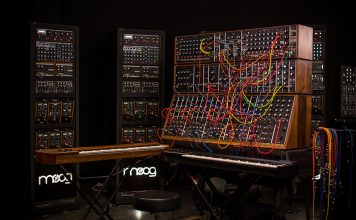moog synthesizer iiic
