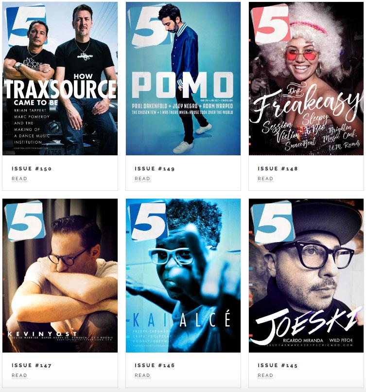 5 magazine membership