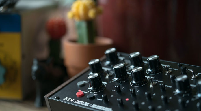 Moog's new DFAM drum synth
