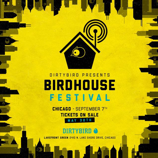 Chicago Dirtybird Festival Birdhouse 2019