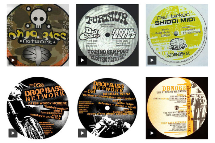Milwaukee Drop Bass Records Catalog
