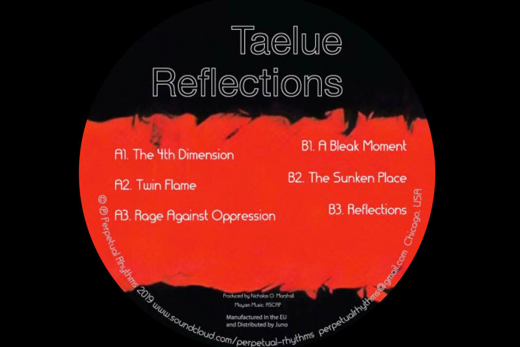 Taelue Reflections album Perpetual Rhythms