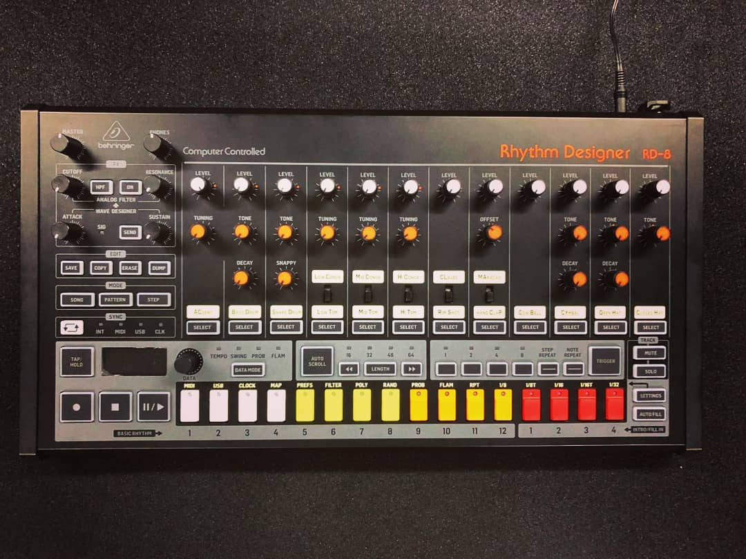 Behringer 808 Clone: Thomann Shipping Orders & the First RD-8 Videos Show Up in the Wild
