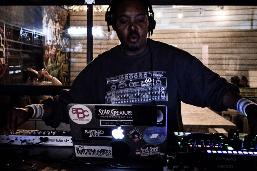 Chicago House DJ John Simmons