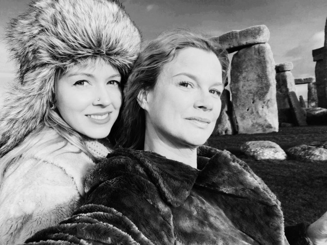 Oona Dahl and Kirsty Hawkshaw