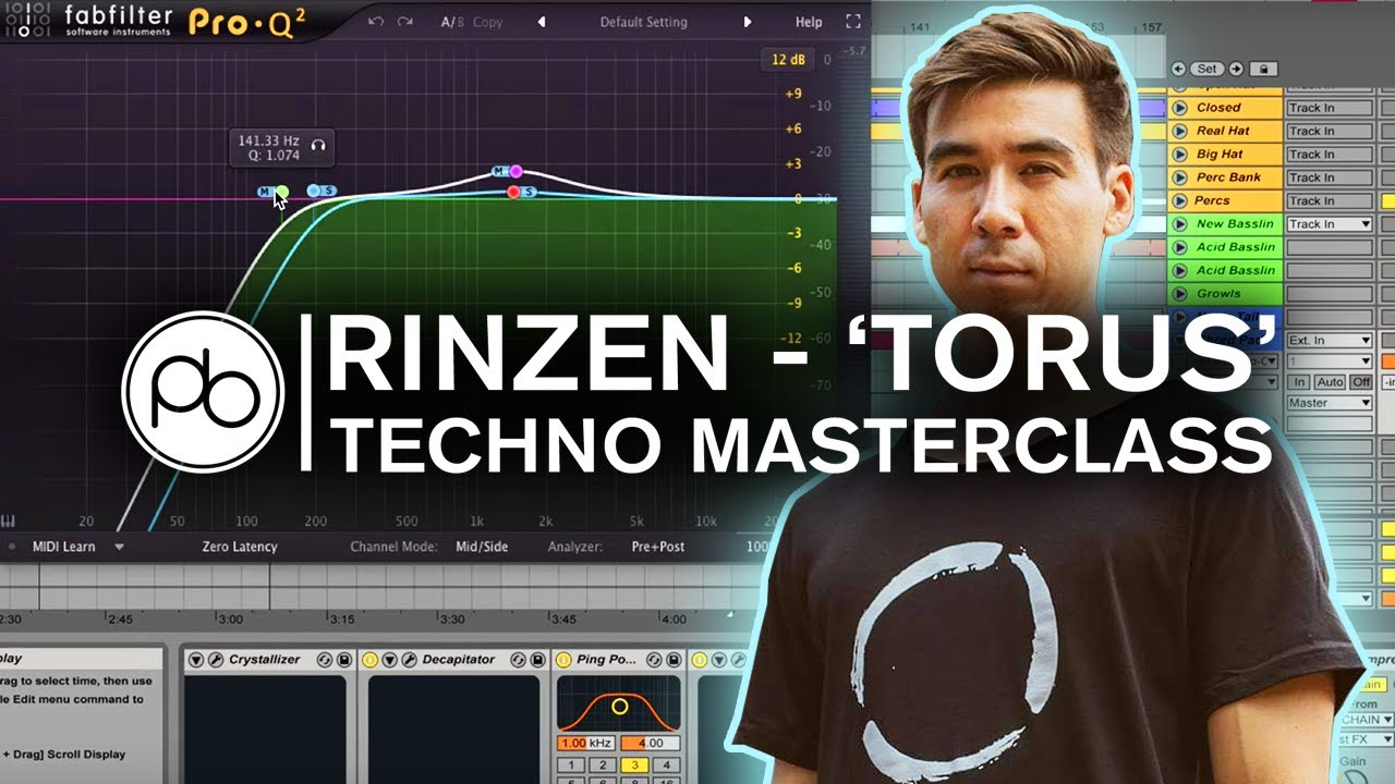 (Sponsored) Learn How mau5trap's Rinzen Perfects His Mixes in This Point Blank Techno Masterclass