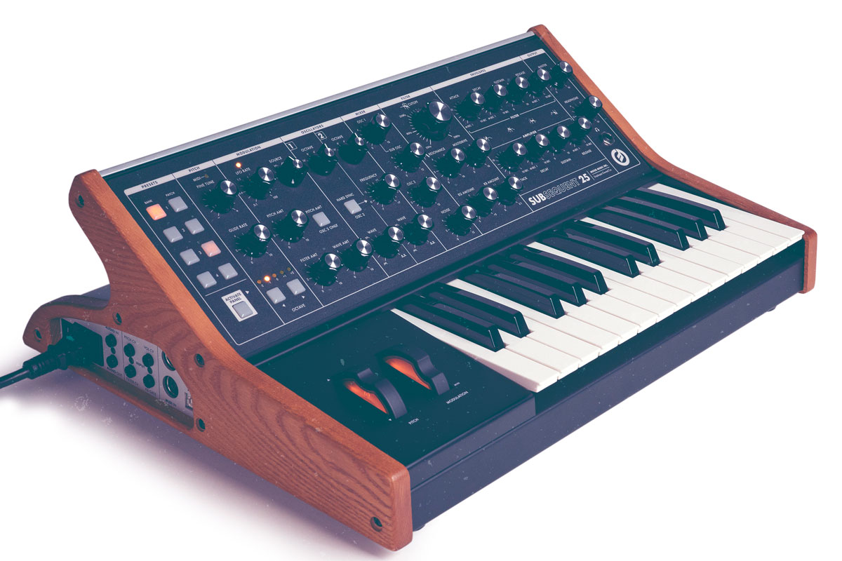 Moog's Subsequent 25 Squeezes Phat Bass in a Tiny Box