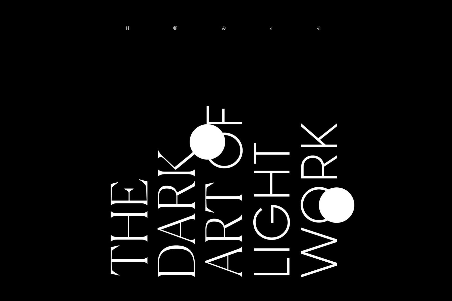 Hawke Dark Art of Light Work
