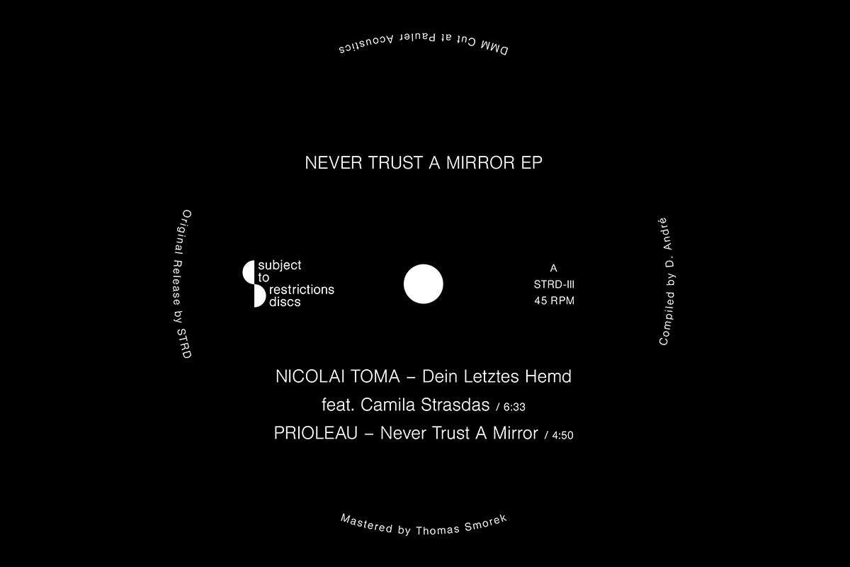Acid Flash Forward: Subject To Restrictions Releases Never Trust A Mirror EP
