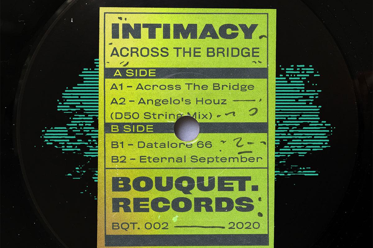Intimacy Across the Bridge EP album artwork