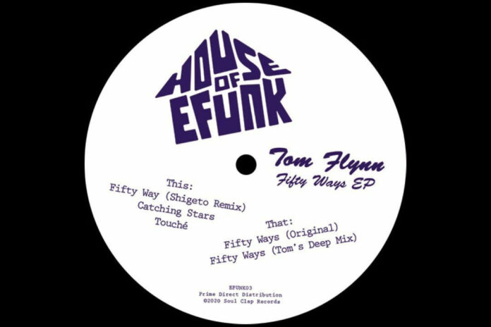 Tom Flynn House of EFUNK album artwork