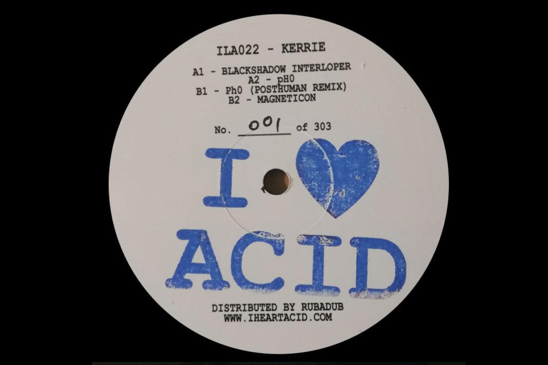DJ Kerrie I Love Acid artwork