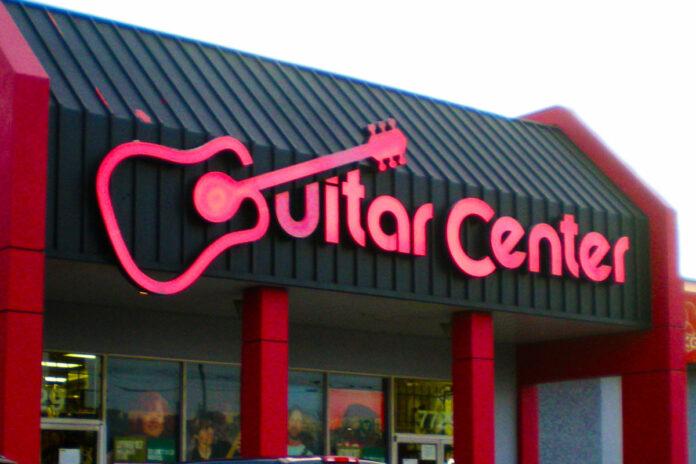 Guitar Center storefront