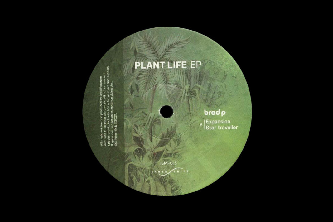 Brad P Plant Life album artwork