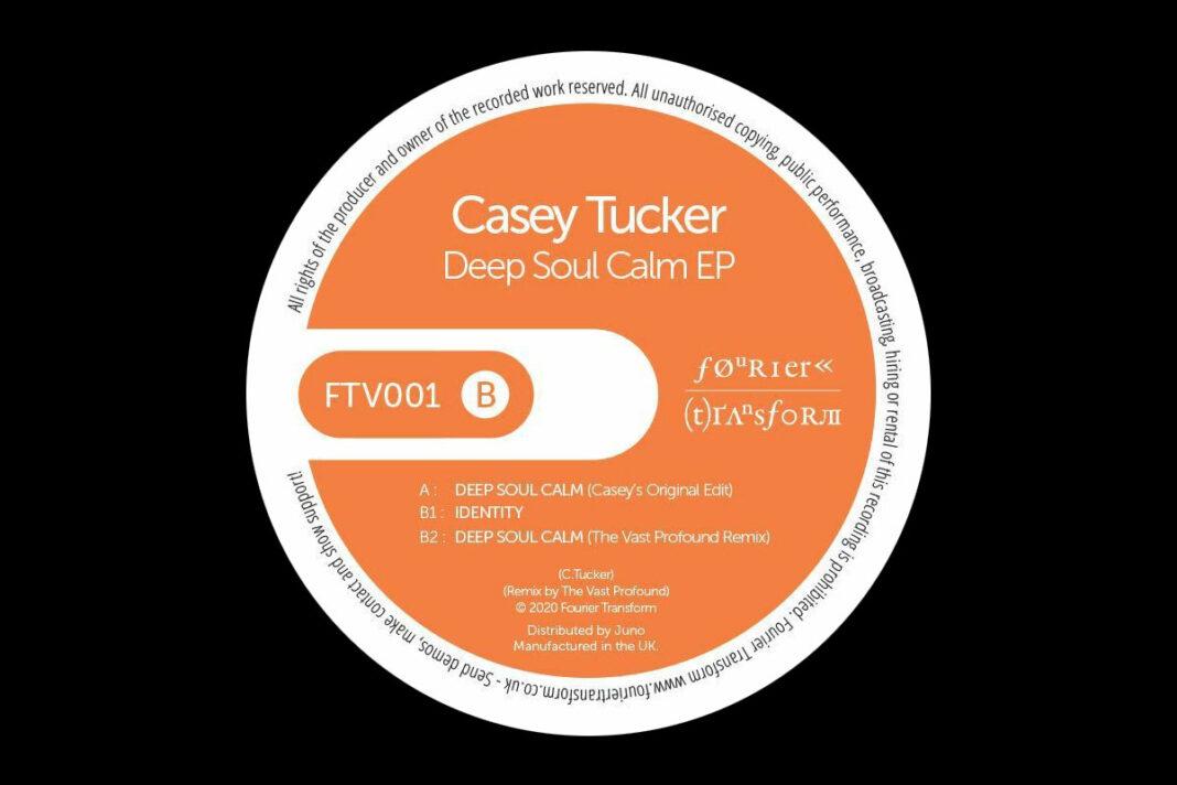 Casey Tucker Deep Soul Calm album artwork