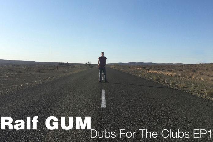 Ralf Gum Dubs for the Clubs vol 1 album artwork