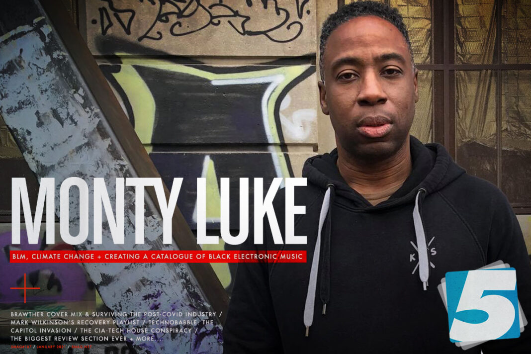 5 Mag Issue 187 cover with Monty Luke