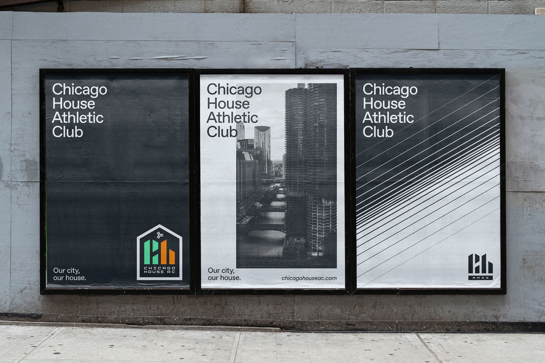 Chicago House AC posters