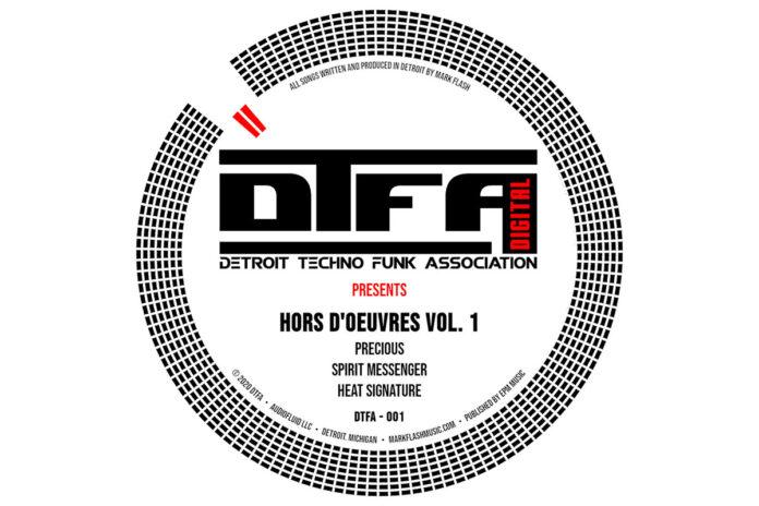 Mark Flash Detroit Techno Funk Association album artwork