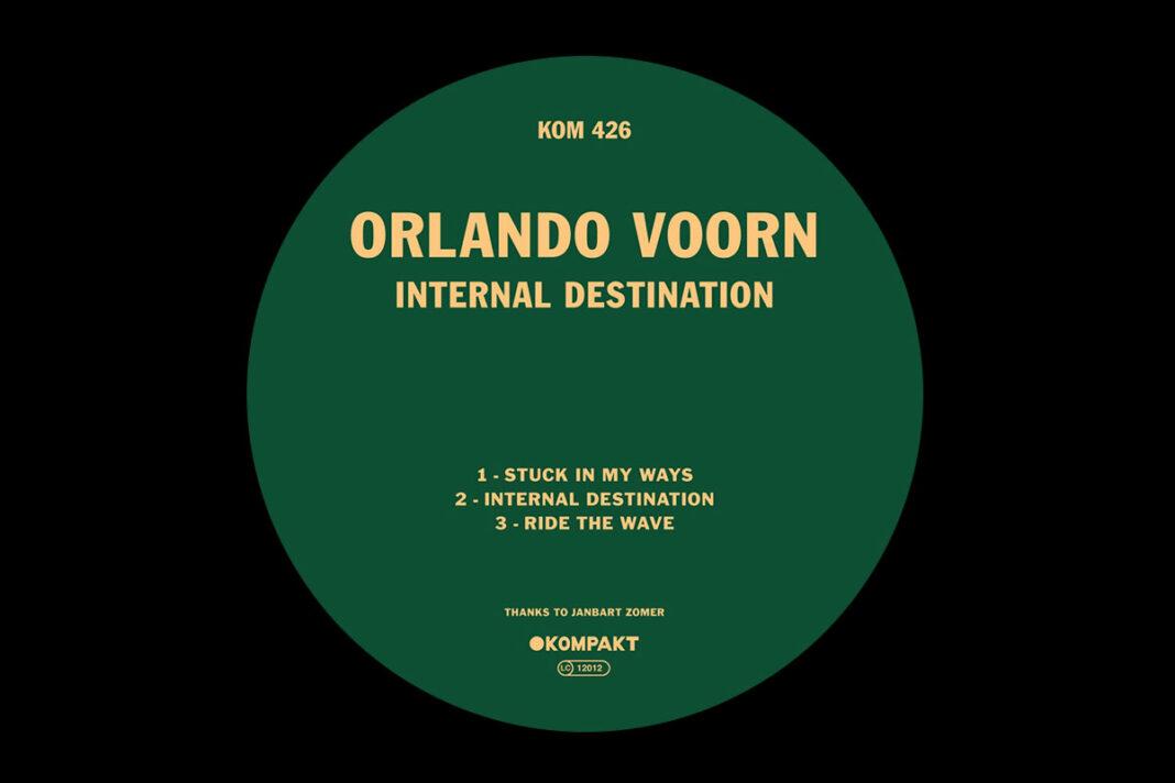 Orlando Voorn Internal Destination album artwork