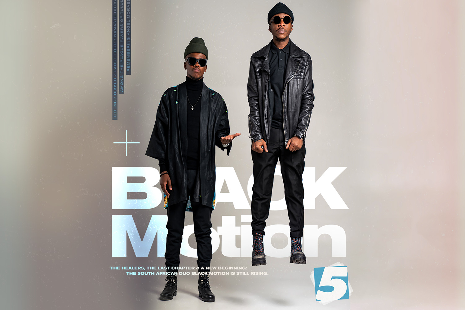 Black Motion 5 Mag Cover