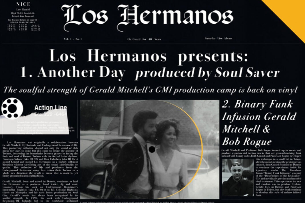 Los Hermanos Another Day album artwork