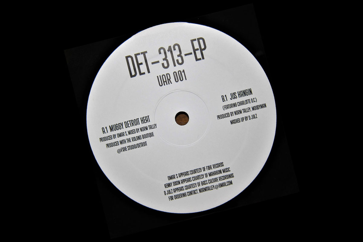 Norm Talley launches Upstairs Asylum with all-star Det-313 EP