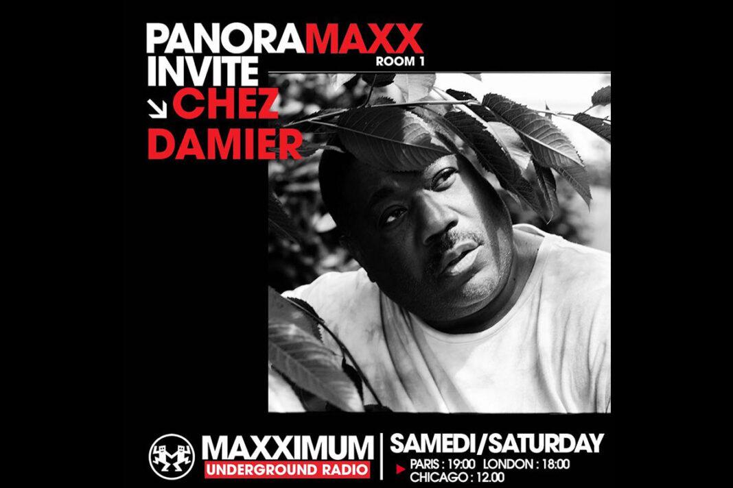 Chez Damier Maxximum Radio slot artwork