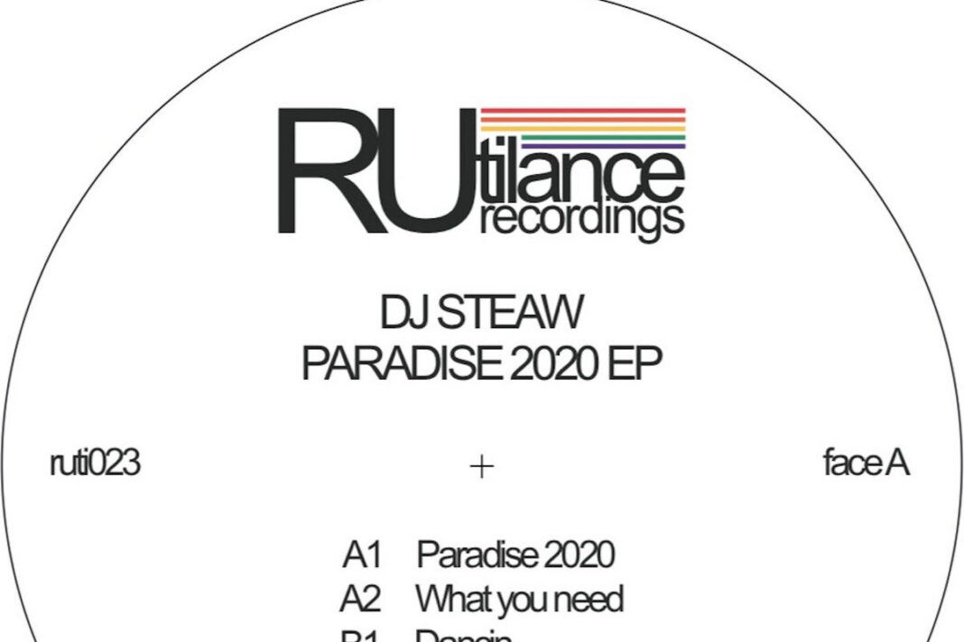 DJ Steaw Paradise 2020 album artwork
