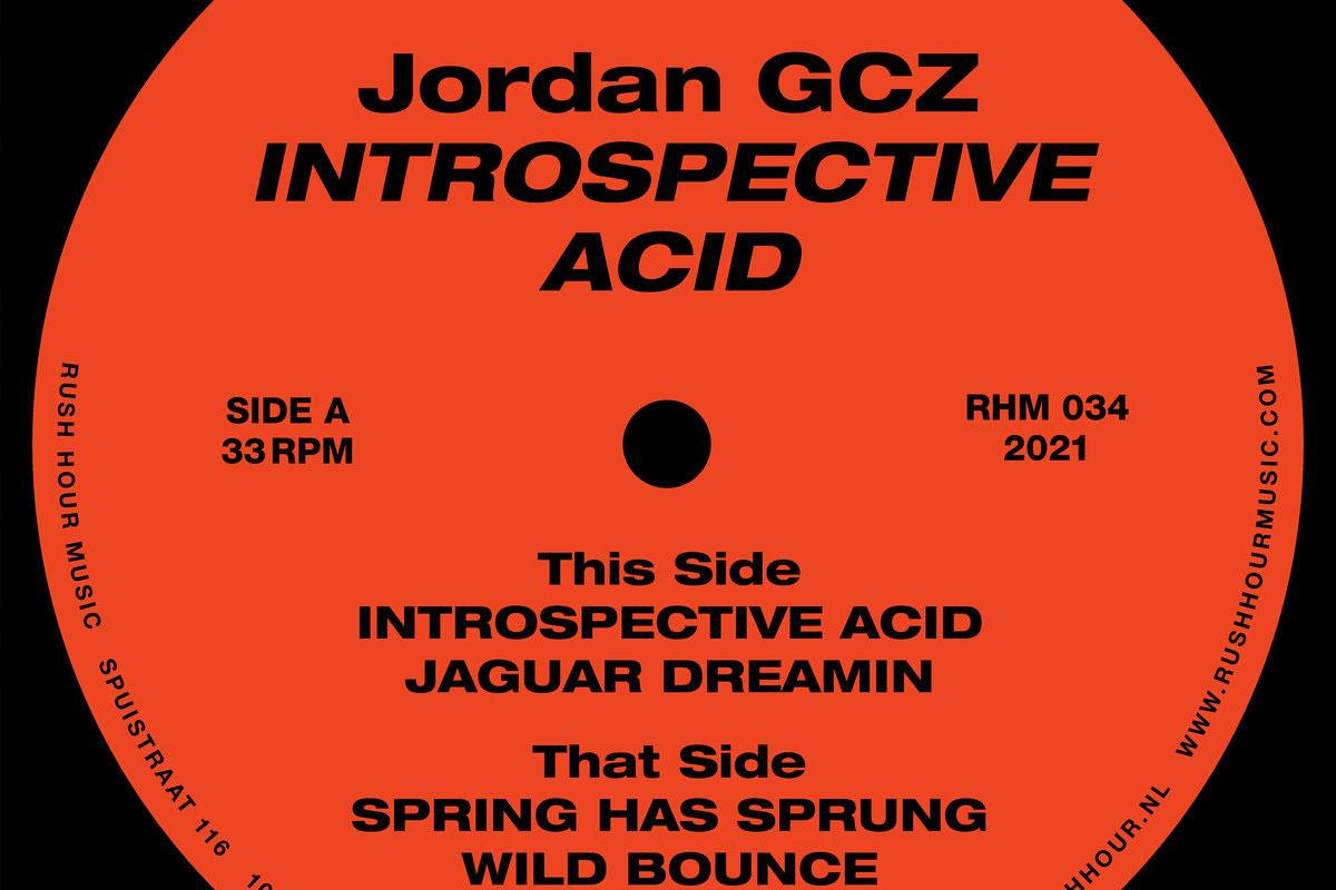 Jordan GCZ Introspective Acid album artwork