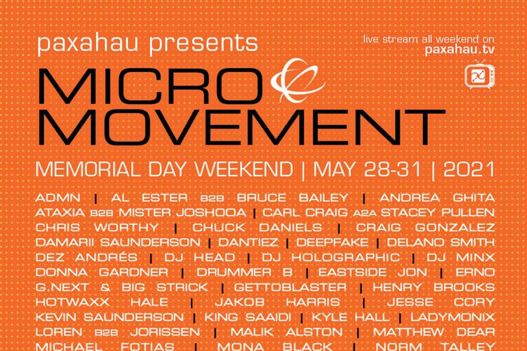 Micro Movement Festival 2021