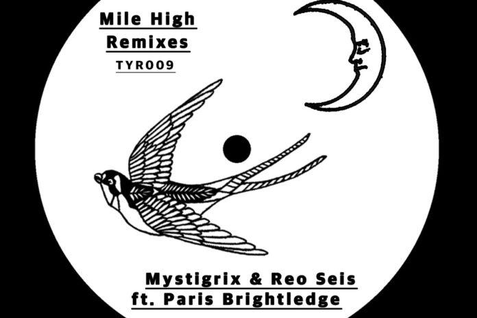 Mile High remixes album artwork