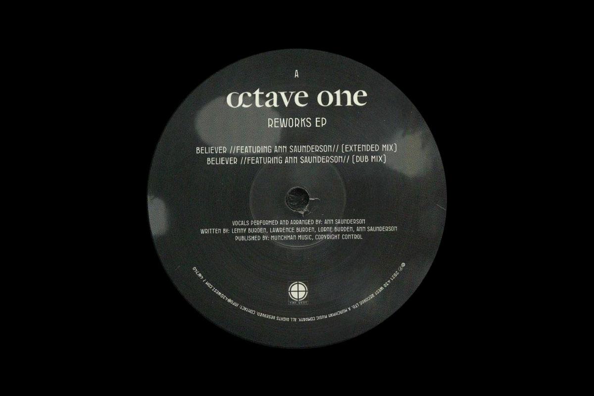 Octave One The Reworks album artwork