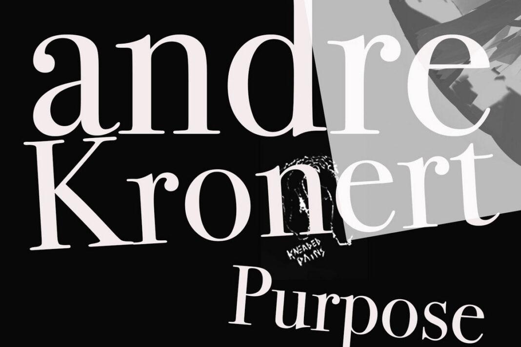 Andre Kronert Purpose album artwork