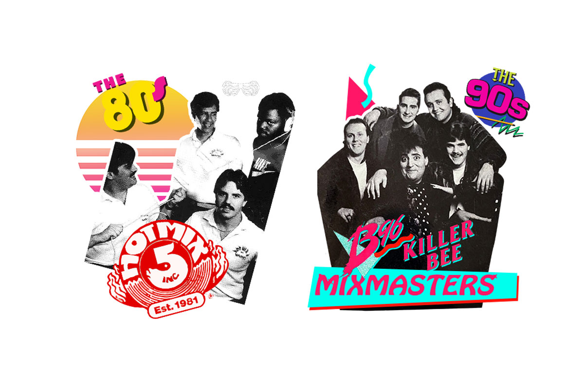 For the old school heads: the Hot Mix 5 & B96 Mixmasters headline a drive-in house party