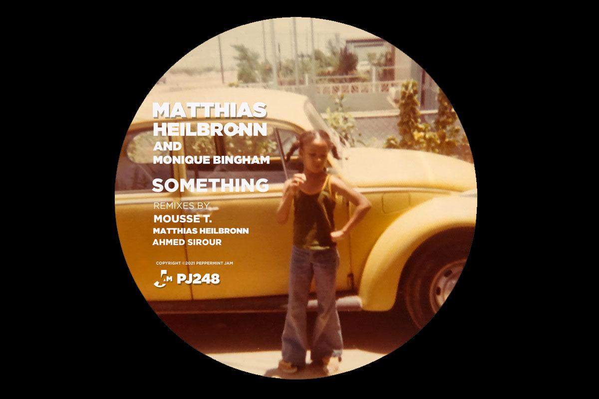 """You're the Deepest MF Around"" - Matthias Heilbronn & Monique Bingham team up on ""Something"""
