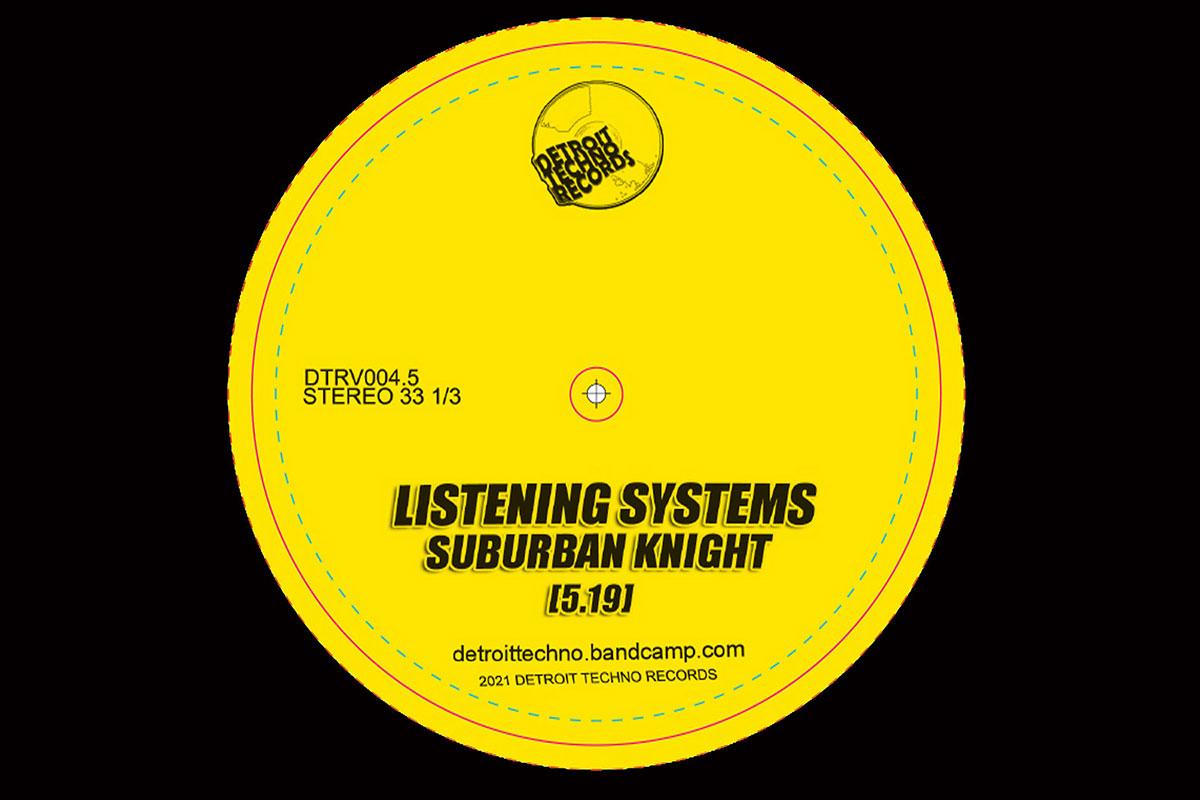 Suburban Knight Listening Systems album artwork
