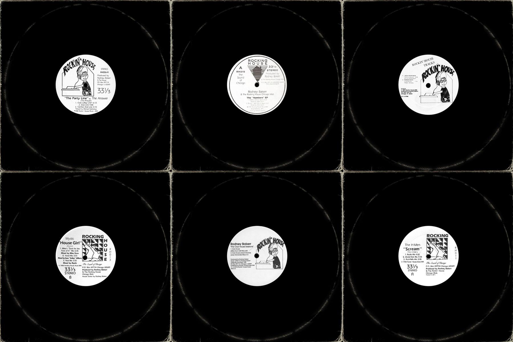 Mr. Bakerr's Half Dozen: 6 rarities from Rodney Bakerr & the Rockin' House catalog