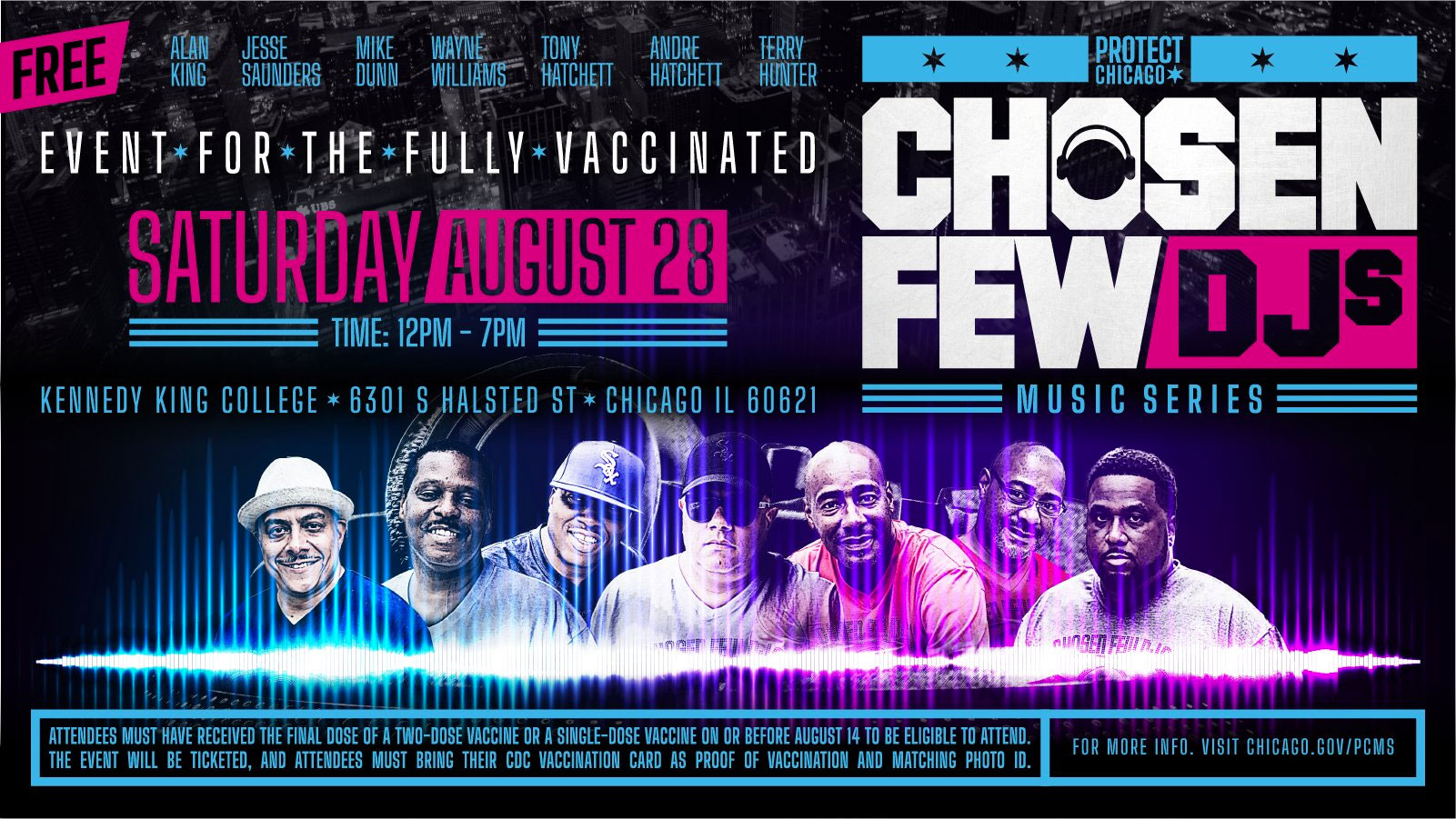 Chosen Few Free show August 28 2021