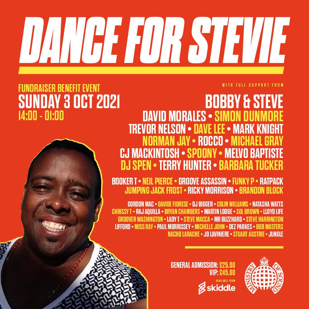 Dance For Stevie event art