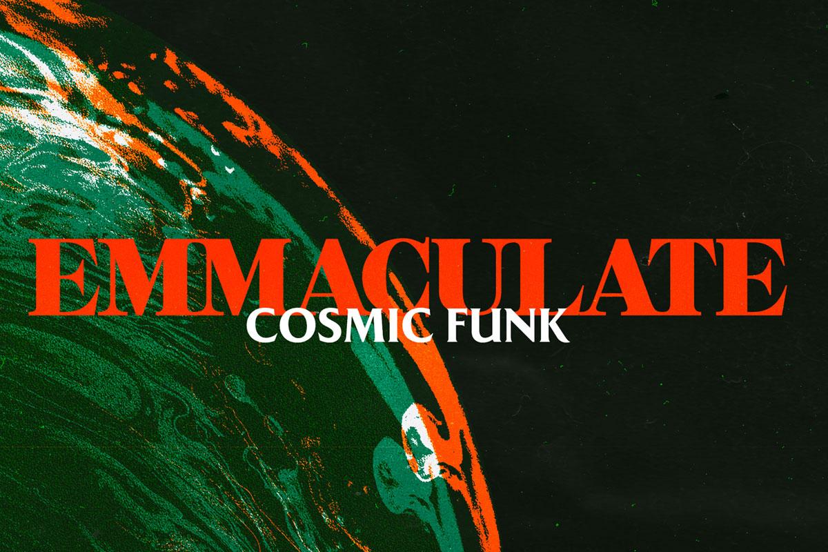 Emmaculate Cosmic Funk album artwork