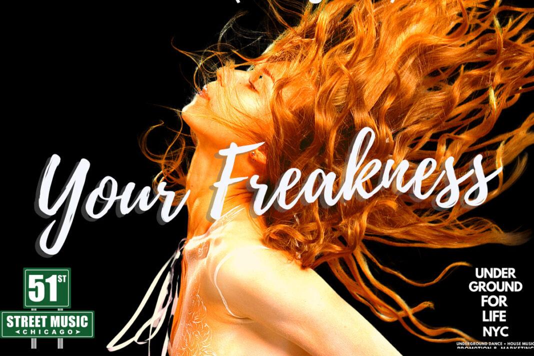 Master C&J Your Freakness remixes album artwork